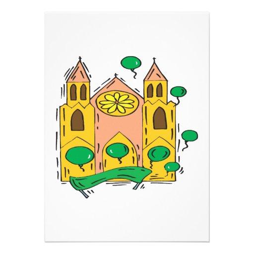 Iglesia irlandesa comunicado personalizado