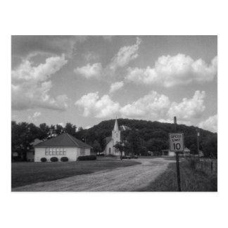 Iglesia luterana de Immanuel - ensenada de Postal