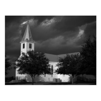 Iglesia luterana de la trinidad - Fedor, Tejas - Postal