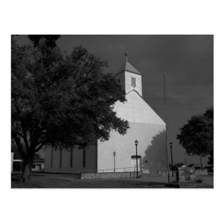 Iglesia luterana de San Pablo - Serbin, TX - Postal