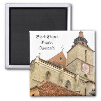 Iglesia negra en Brasov, Rumania Imanes