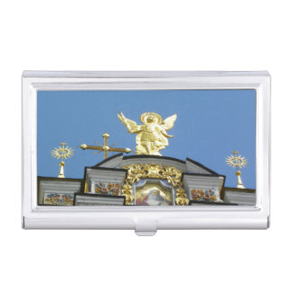 Iglesia ucraniana caja de tarjetas de negocios