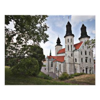 Iglesia vieja en Visby Suecia Comunicado Personal