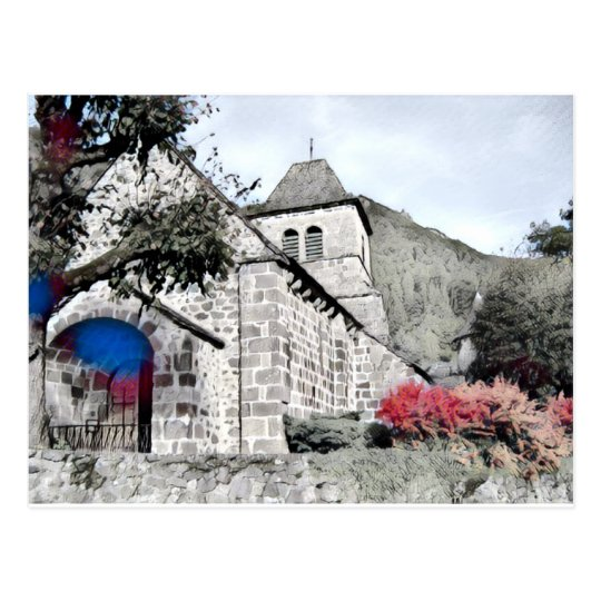 iglesia vieja postal