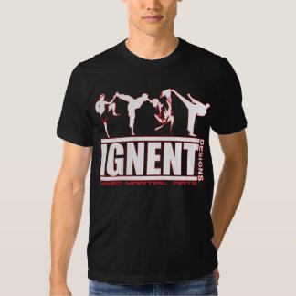 IGNENT Mens_170_wht/tinta Camiseta