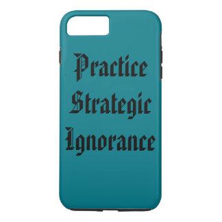 """Ignorancia estratégica de la práctica "" Funda iPhone 7 Plus"