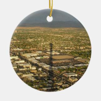 Igualación de Las Vegas Adorno Redondo De Cerámica