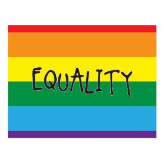 Igualdad para todos postal