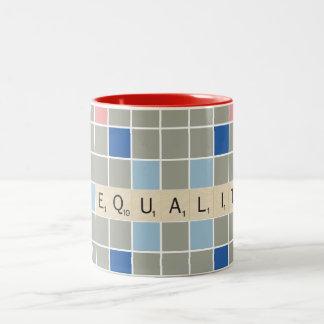 Igualdad Taza De Dos Tonos