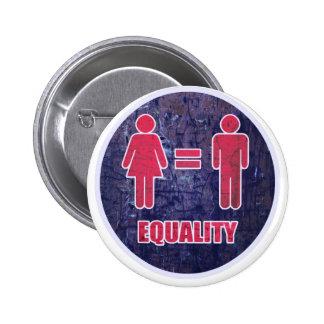 Igualdad V2 Chapa Redonda 5 Cm