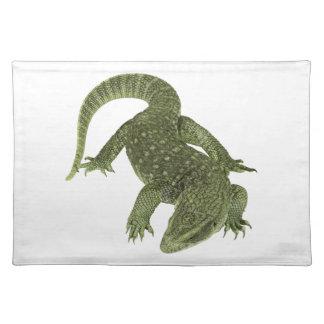 Iguana disimulada de las Islas Galápagos Salvamanteles
