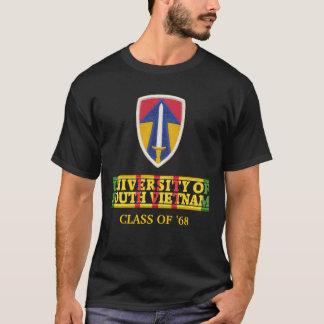 II universidad de la fuerza de campo de la camisa