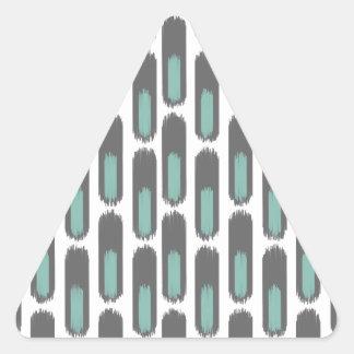 Ikat Diamond59 nuevo Pegatina Triangular