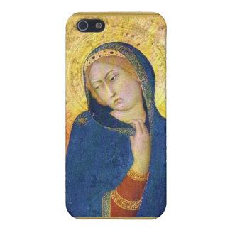Ikon del Virgen María iPhone 5 Cárcasas