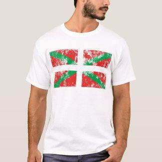 Ikurriña desgastada camiseta