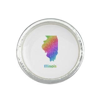 Illinois Anillo Con Foto