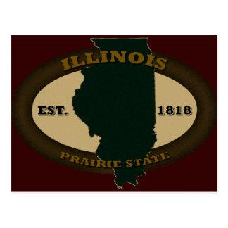Illinois Est. 1818 Postal