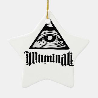 Illuminati Adorno De Cerámica