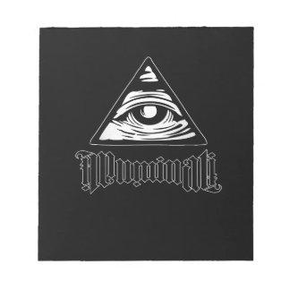 Illuminati Bloc De Notas