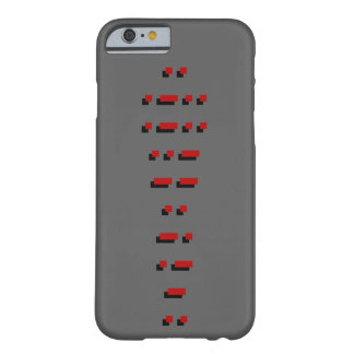 ILLUMINATI (código Morse) Funda Para iPhone 6 Barely There