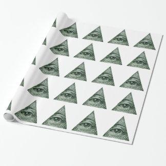 illuminati papel de regalo