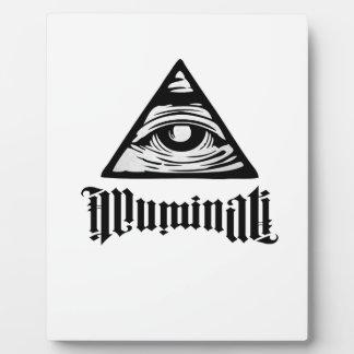Illuminati Placa Expositora