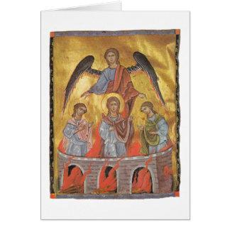 Iluminador del armenio de Toros Roslin Tarjeton
