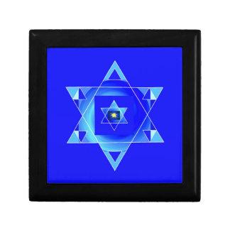 Ilusión azulada caja de recuerdo