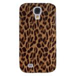 Ilusión de la piel del leopardo de Valxart Funda Para Galaxy S4