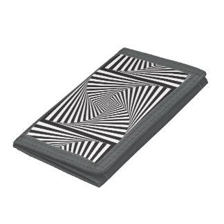 Ilusión óptica espiral blanca negra hermosa