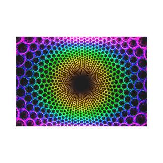 Ilusión óptica lienzo