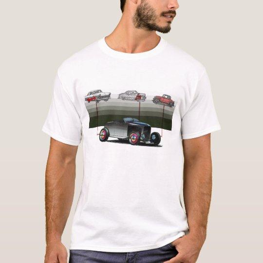 ilustracion de la barra de la rata camiseta