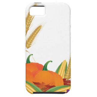 Ilustracion de la cosecha de la caída funda para iPhone SE/5/5s