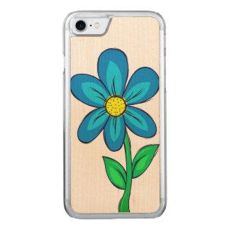 Ilustracion de la flor de la primavera funda para iPhone 8/7 de carved