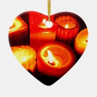 Ilustración de la vela de la acción de gracias y d adorno de navidad