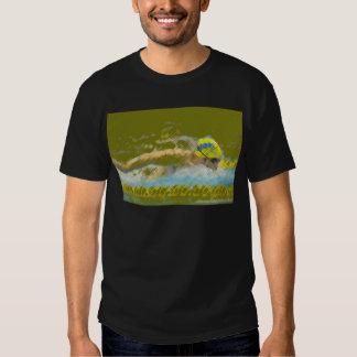 Ilustracion Nadador Camiseta