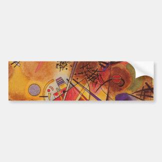 Ilustraciones abstractas de Kandinsky Pegatina Para Coche