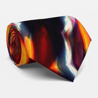 Ilustraciones abstractas originales creativas corbata personalizada