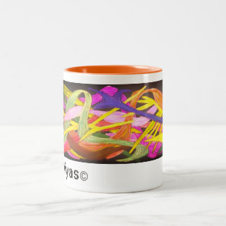 Ilustraciones de Ampiyas en la taza