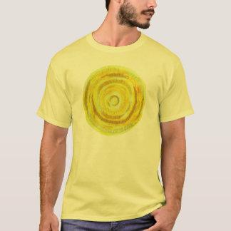 ilustraciones del claro del chakra #2 del plexo camiseta
