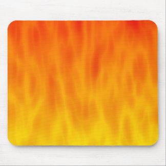 Ilustraciones del fuego/de las llamas: alfombrilla de ratón