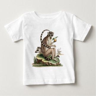 Ilustraciones del Lemur Camiseta De Bebé
