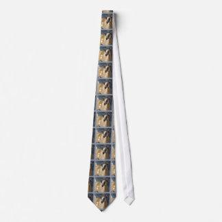 Ilustraciones enanas lindas de la acuarela de la corbata personalizada