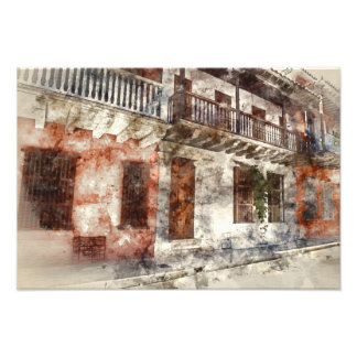 Ilustraciones originales de Cartagen Colombia Foto