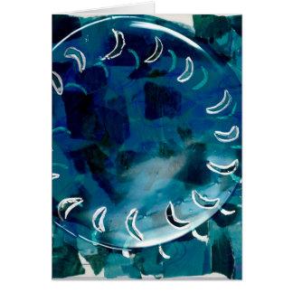 Ilustraciones originales - luz tenue ecl3iptica tarjeta pequeña