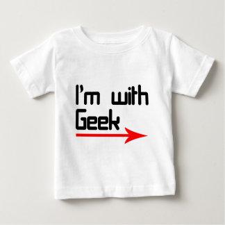 Im con el friki camiseta de bebé