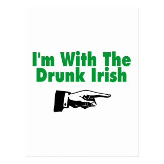 Im con el irlandés borracho postales