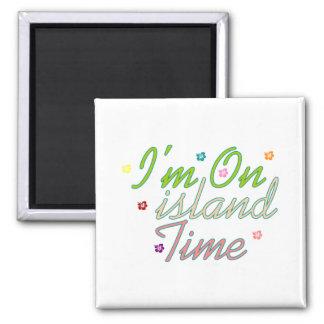 Im el tiempo de la isla imán
