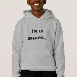 Im en forma… Redonda es una camiseta de la forma