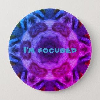 I'm focused chapa redonda de 10 cm